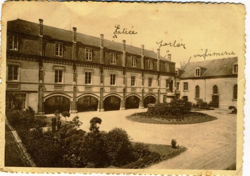 The Monastery at Hachy, near Arlon