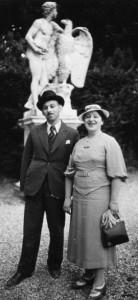 1937—My parents in Paris