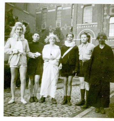 A show in Momignies. Henry is standing second from left