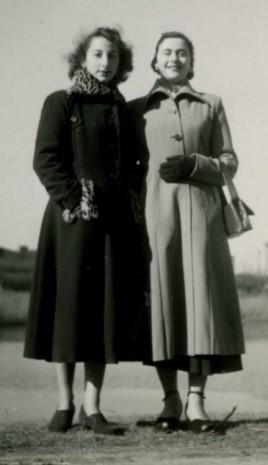 1951 – Zazou and I in New York
