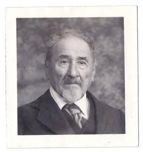 Our grandfather Moritz Neuberger