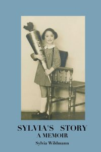 Book cover of Sylvia's Story showing her at age six