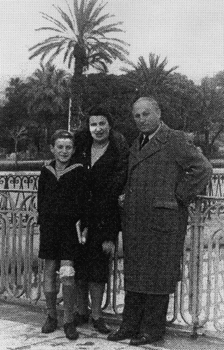 The Rath family in Nice, France in 1941.  My friend Peter was deported with Convoi #62 in 1943.