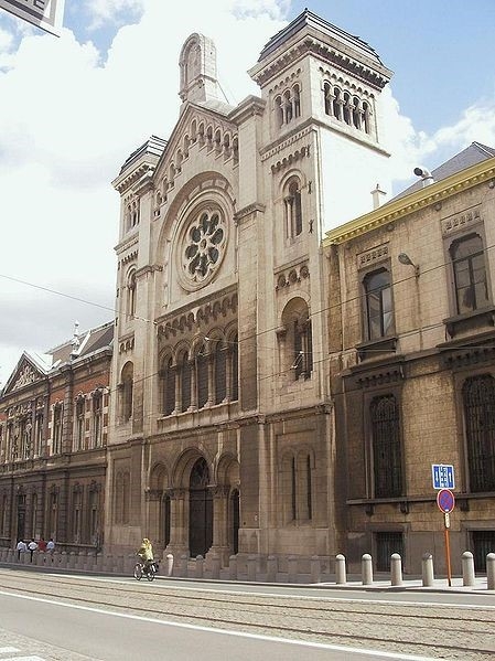 The Grande Synagogue of Bussels, rue de la régence