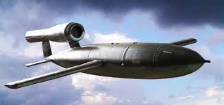 1944 – V-1 or flying bomb.  The British called it doodlebug